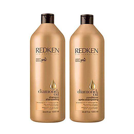 Redken Diamond Oil Shampoo + Conditioner 33.8 Oz