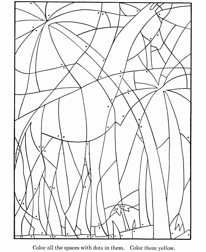 Hidden Picture Coloring Pages Is A Great Way To Increase Your