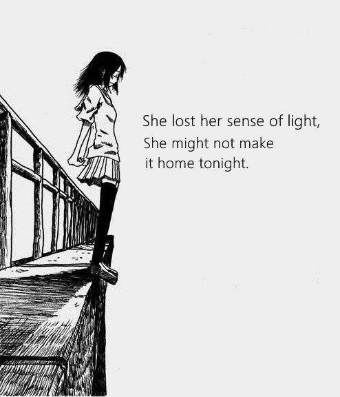 Give people a sense of light :(
