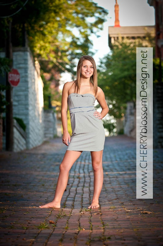 Bare Feet Cuteness  Lady, One Shoulder Formal Dress -1138