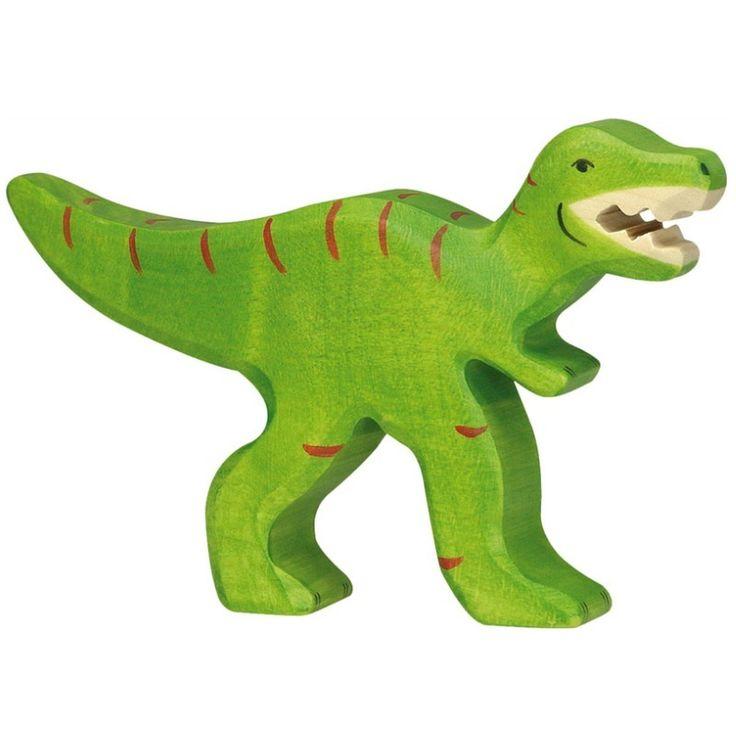 Wooden T-Rex Holztiger Dinosaur Toy | Worldwide shipping www.minizoo.com.au