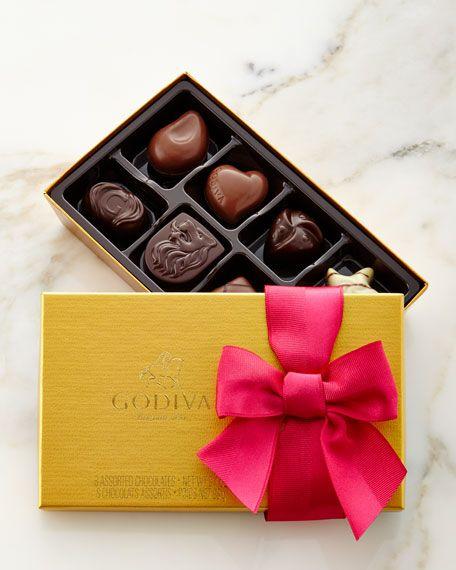 Godiva Chocolatier 8-Piece Spring Gold Chocolates $16.00
