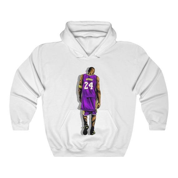 Kobe Bryant Los Angeles Lakers 24 8 Unisex Hooded Sweatshirt Shirt 2020