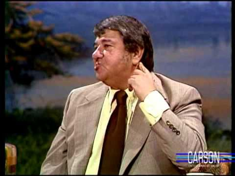Buddy Hackett Tells Divorce Jokes & Naked Bath Story to Johnny Carson, Part 2 on Tonight Show