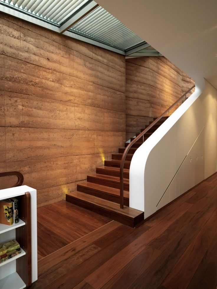 Amazing Staircase Wooden Elamang House In Australia Designed By Luigi  Rosselli