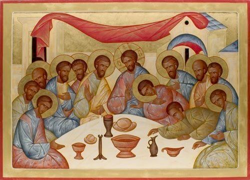 Last Supper by Fr. Andrew Tregubov