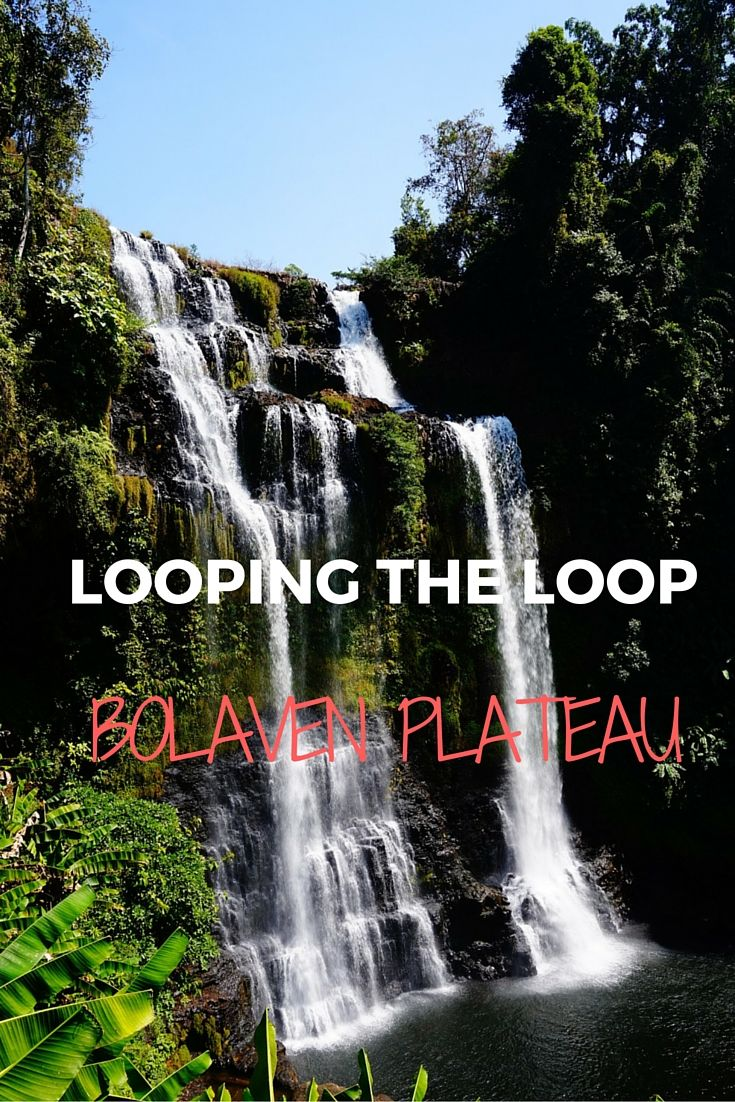 A fantastic ride across the Bolaven Plateau - a great adventure! #laos