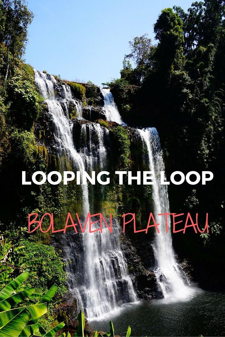 A fantastic ride across the Bolaven Plateau - a great adventure! #laos