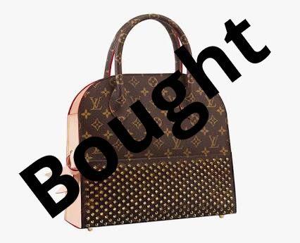 Louis Vuitton x Christian Louboutin Monogram Shopping Tote