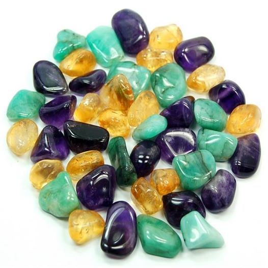 Attracting Financial Abundance Place Emerald, Citrine & Amethyst on a picture of a check with your name on it and image the crystals attracting the money to you. Place this where you can see it often & imagine how good it would feel to have the amount of your check in your hands.  http://www.healingcrystals.com HCPIN10 = 10% off