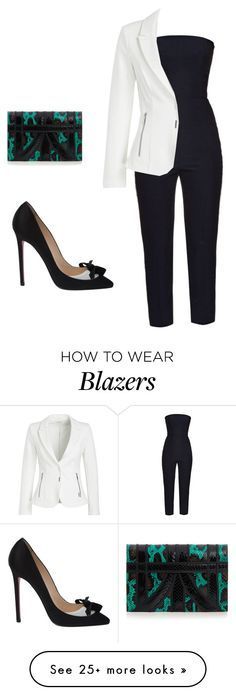 """Untitled #1177"" by carlene-lindsay on Polyvore featuring Alexander McQueen, Christian Louboutin and Aperlaï"