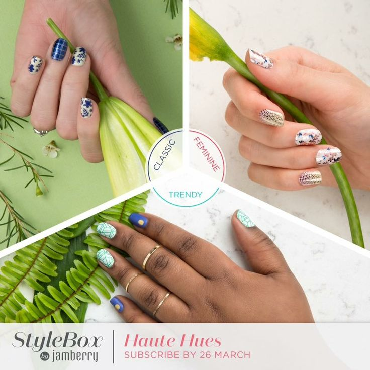Who's signing up to Stylebox? Exclusive stylebox wraps, the option to add extra wraps (and gels) to your stylebox delivery with no additional postage costs - winning! Contact me for additional info, or visit my website to shop Sammie.jamberry.com #jamberry #stylebox #surprisedelivery #nails #nailsathome #cheaperthanamanicure #salonnailsathome #loveprettynails