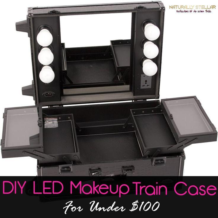 Best 25 Makeup Train Case Ideas On Pinterest Makeup