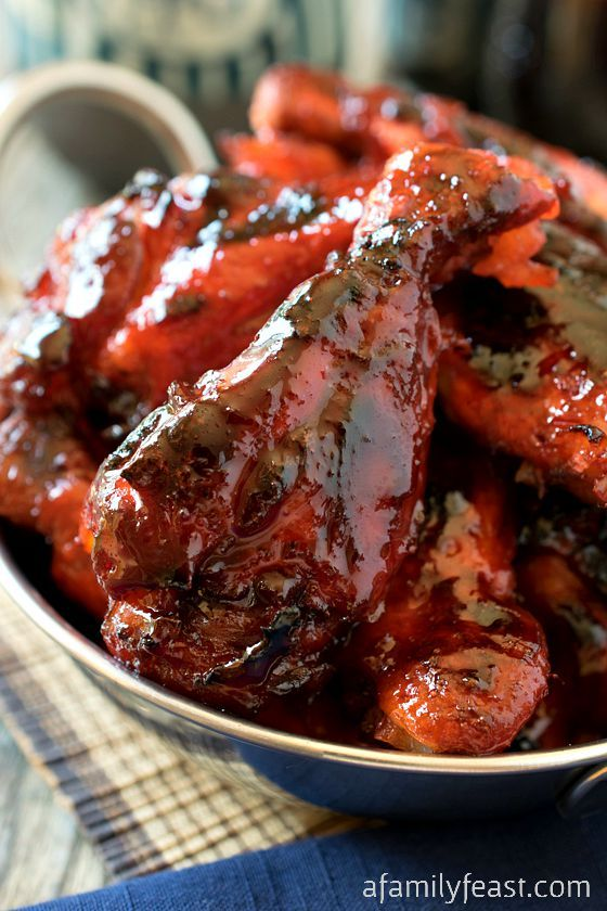 25 best wings recipes images on pinterest chicken wing asian barbecue chicken wings forumfinder Image collections
