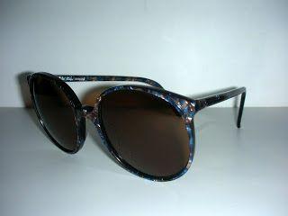 HOT COUTURE VINTAGE EYEWEAR : Vintage Michel Blanc Design Sunglasses Marble Fram...