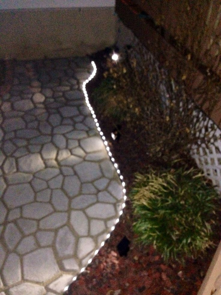 Best 25+ Outdoor Rope Lights Ideas On Pinterest | Walkway Lights, Led Rope  Lights And Backyard Patio