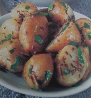 Sanatate cu pofta de viata: Retete de detoxifiere - Salata de cartofi cu chimi...