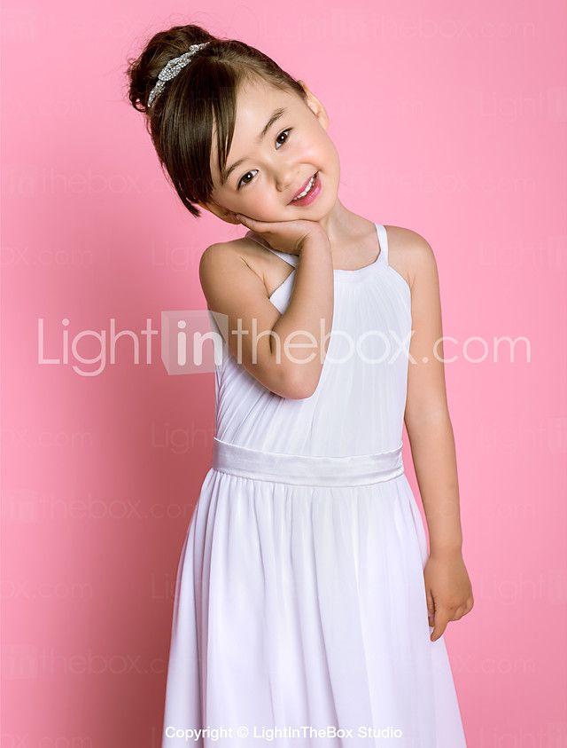 Mejores 10 imágenes de vestido largo niña en Pinterest | Vestidos de ...