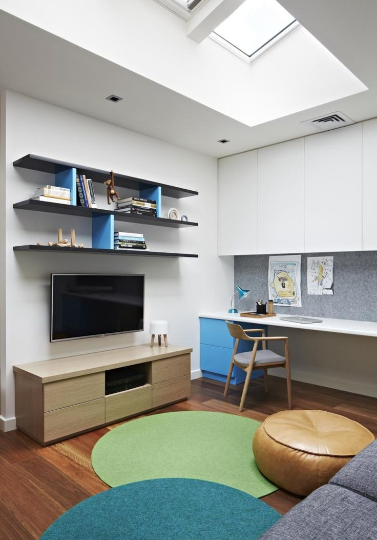 Commercial Road Residence Study/ kids zone by Doherty Design Studio. Photographer: Armelle Habib.