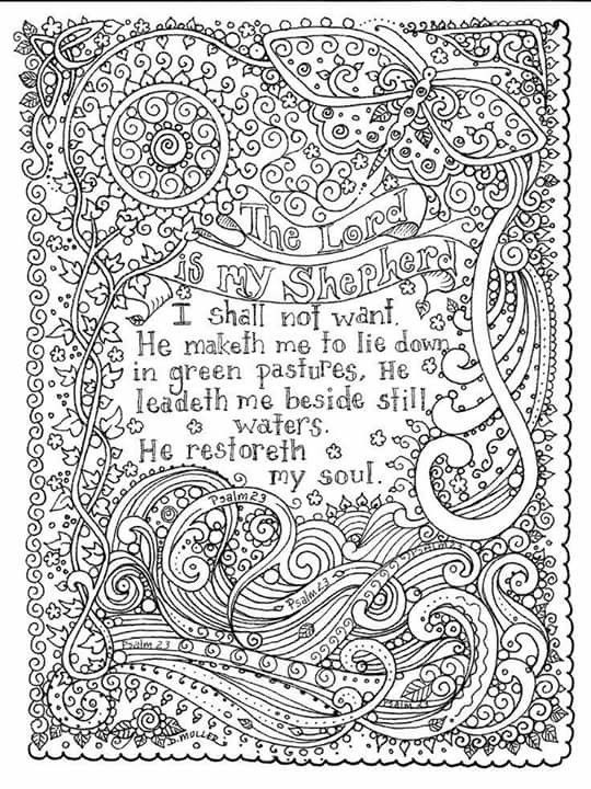 23 Best Adult Coloring Pages SCRIPTURES Amp FAITH Images