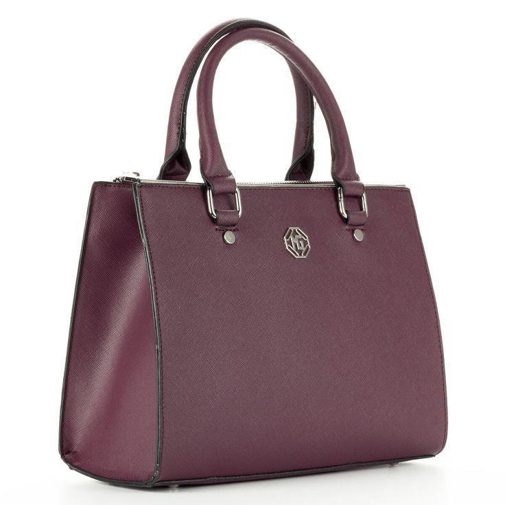 Kis méretű Marina Galanti táska két cipzáros rekesszel. Belseje osztatlan, hosszú vállpánt tartozik a táskához – ChiX Női Cipő- és Táska Webáruház  #bags #fashionbags
