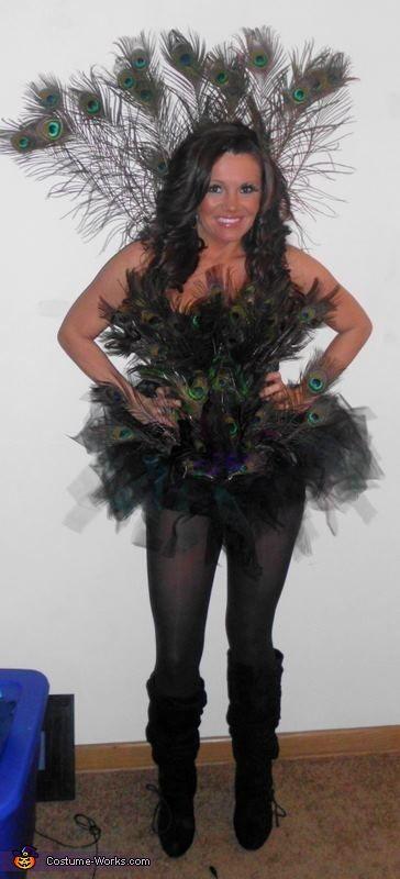 Homemade Costume Ideas for Women | DIY Peacock Costume for Women
