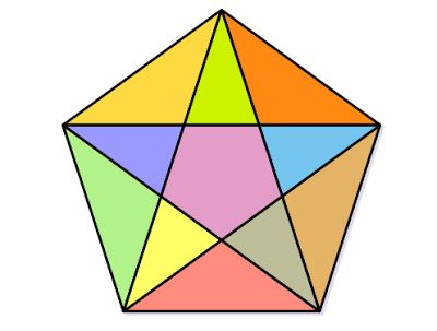 Maths Picture Puzzles With Answers 1 : Count Triangles In Diagram Problem     Difficulty ★★☆☆☆        Popularity ★★☆☆☆    How many triangl...