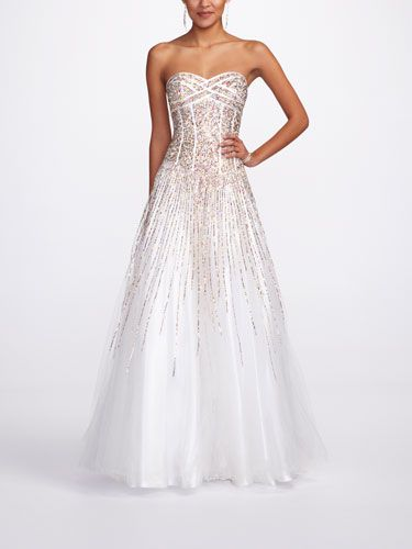 Prom Dress Quiz - Seventeen... Your prom style is girly-glam! You're a girly girl who loves to look fashion-y and fabulous at all times! Rock a dramatic princess dress with sparkles and embellishments to match your girly-glam style.