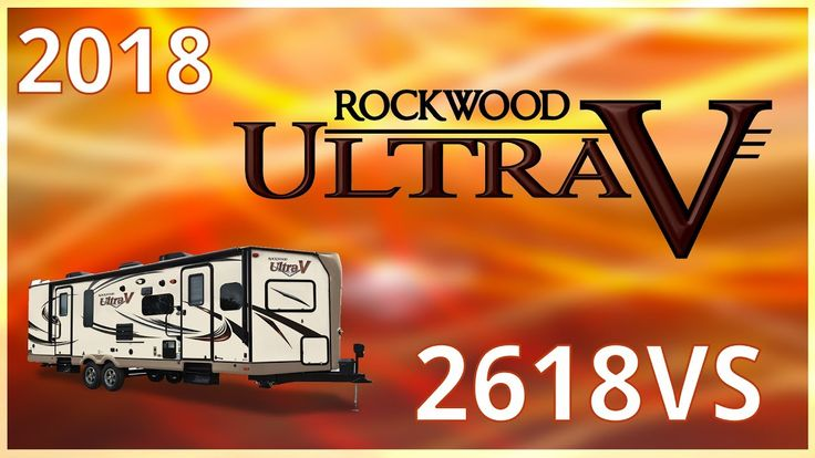 2018 Forest River Rockwood Ultra V 2618VS Travel Trailer RV For Sale Hamiltons RV Outlet Explore this 2018 Rockwood Ultra V 2618VS and more at http://ift.tt/2qONrJo or call Hamiltons RV today at 989-702-2735!   The 2018 Rockwood Ultra V 2618VS travel trailer makes any campsite feel like home!   The Ultra Vs sleek unique design easy lube axles and Nev-R Adjust brakes make it a breeze to tow while plentiful storage compartments are incredibly convenient!   Cook just like you would at home with…