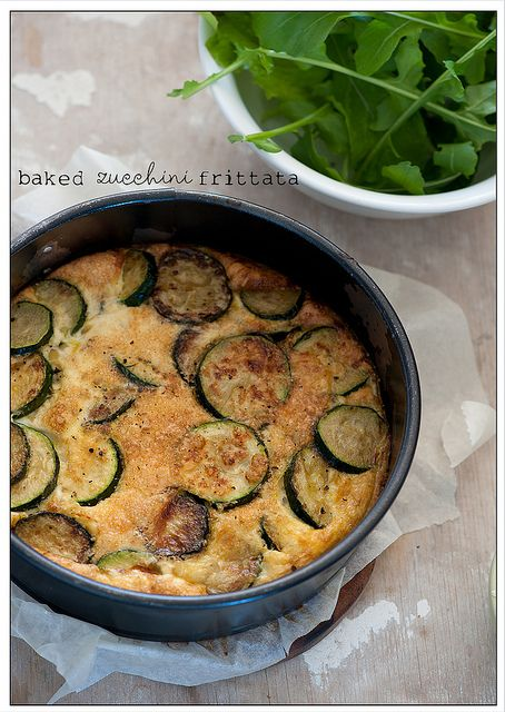 This post has a 5-meal vegetarian menu plan using a limited number of ingredients.  Great resource.  I would change up a few of the meals/ingredients, but there look to be a few gems, like this baked zucchini fritata.