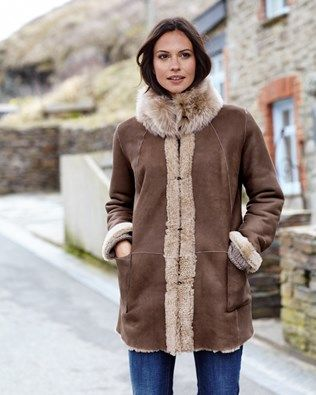 Ladies Outerwear   Sheepskin Coats - Buy Online   Celtic & Co