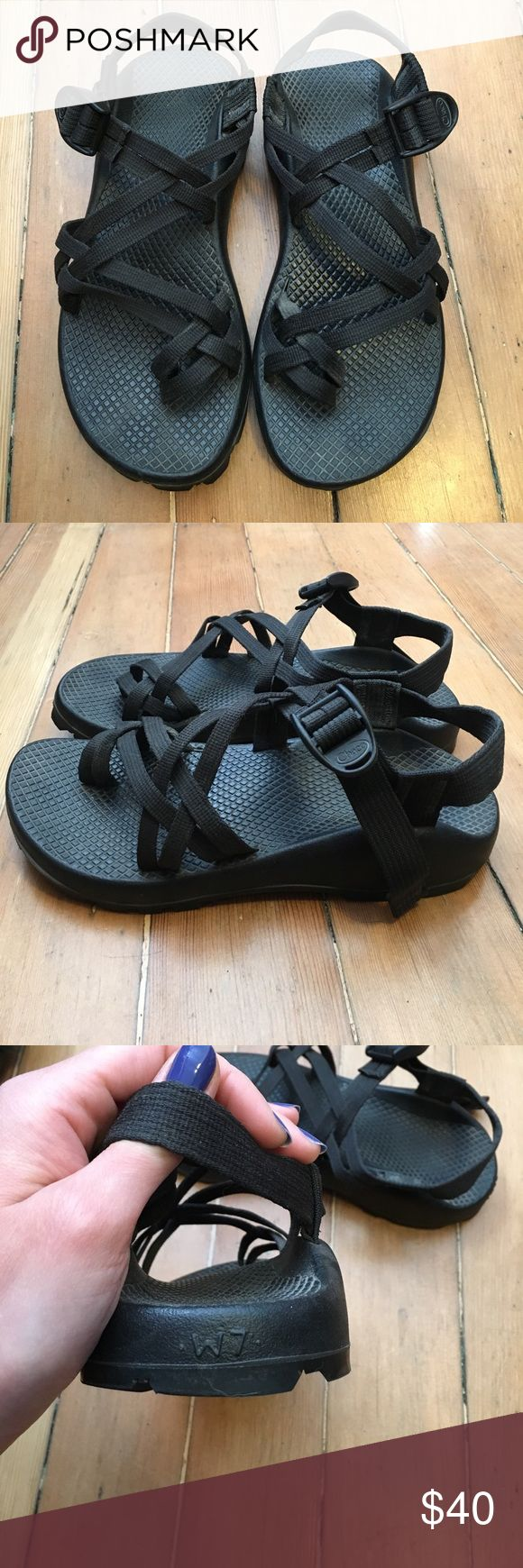 Black Chaco Sandals Awesome strappy sandals! Super cute and perfect for spring/summer adventures! Chaco Shoes Sandals
