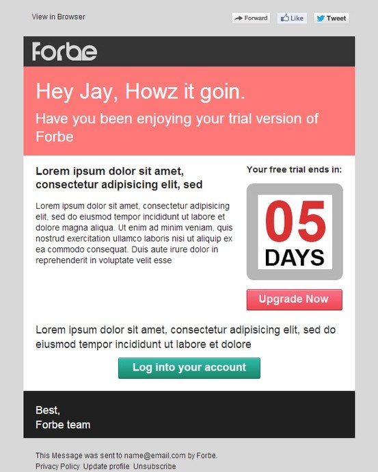 Best Transactional Emails Images On Pinterest Email Design - Transactional email templates