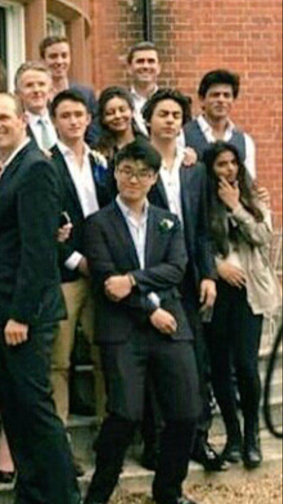 Aryan and Gauti at Aryan's Graduation May? 2016 from Sevenoaks London