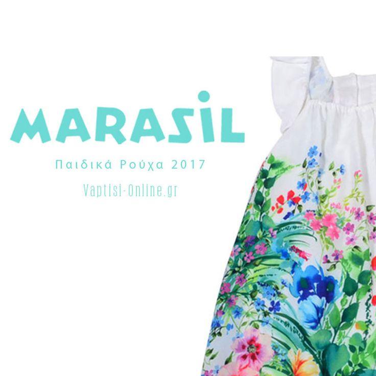Δείτε την συλλογή μας στα  Παιδικά Ρούχα Marasil εδώ:http://www.vaptisi-online.gr/marasil-el.html