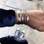 Silver Statement Cuff Bracelets