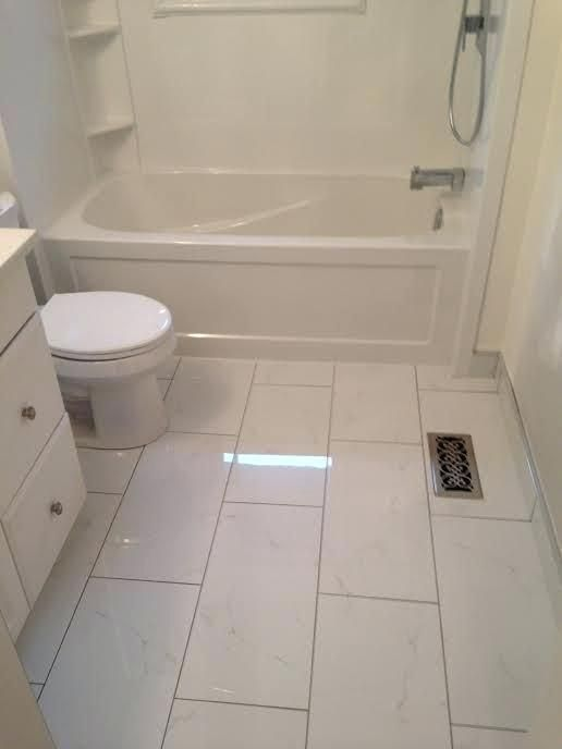 Bathroom Flooring Ideas For Small Bathrooms Lanzhome Com Bathroom Floor Tile Small Bathroom Flooring Small Bathroom Tiles Bathroom tile ideas for small