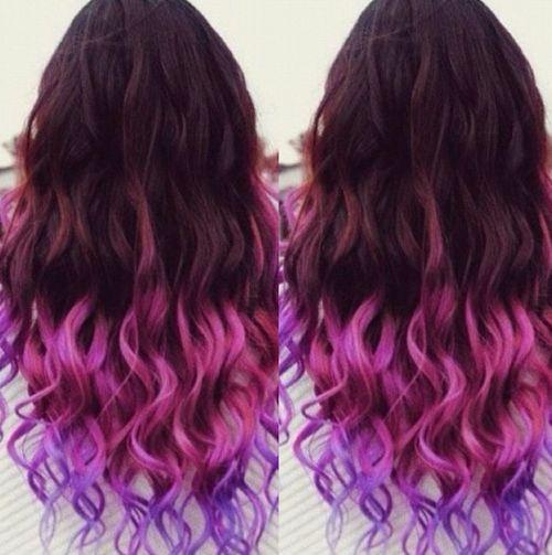 Best 25+ Purple dip dye ideas on Pinterest | Dipped hair, Purple ...