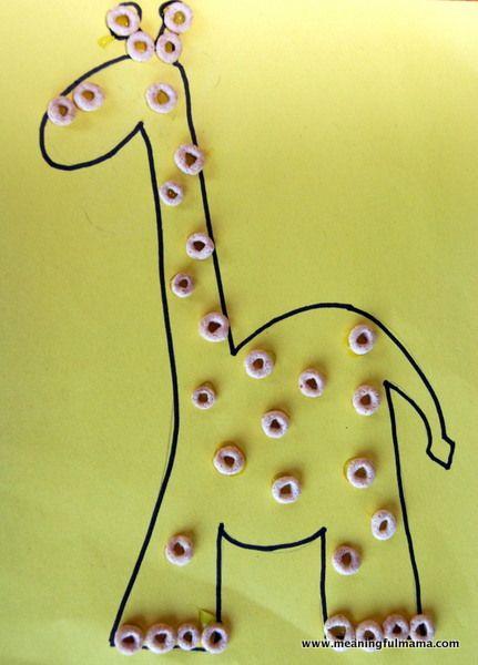 giraffe crafts for preschoolers | Day #244 Availability with the Giraffe – Character Development, Week ...