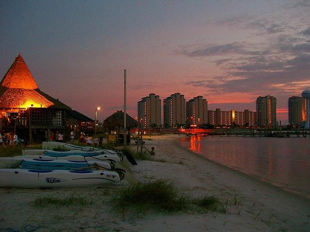 Juanas Pagodas Navarre Beach Florida, my home away from home..i miss it