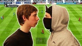 Лучший игрок в FIFA 13 соревнуется с сильными ютуберами-FIFA-геймерами (Fifa Playa vs YouTubers)