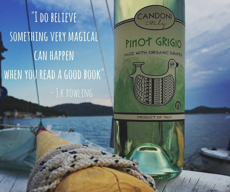 Celebrate Book Lovers Day with your favorite book and a glass of wine. There's nothing better.