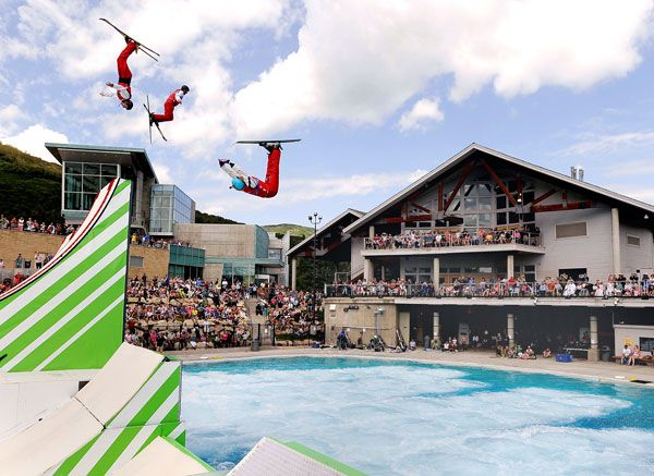 Flying Ace Freestyle Shows - Utah Olympic Legacy Foundation