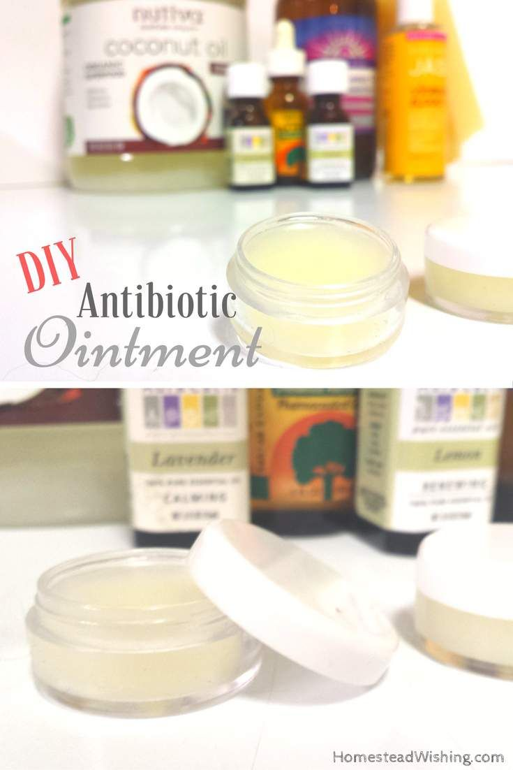Antibiotic ointment is easy to make right at home. This antibiotic ointment is great for minor cuts, scrapes, and burns. Keep one in your purse, first aid kit and your bug out bag.