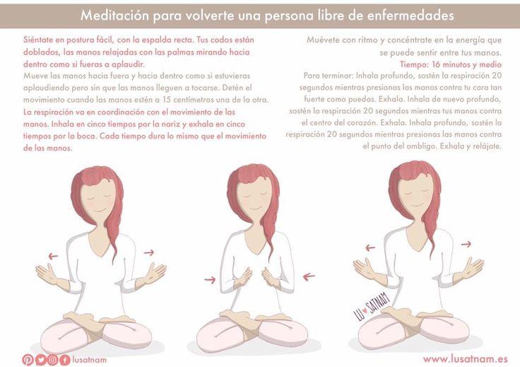 Esta meditación despierta el sistema inmunológico. Hazla cada día para mantener tus chakras a ritmo.