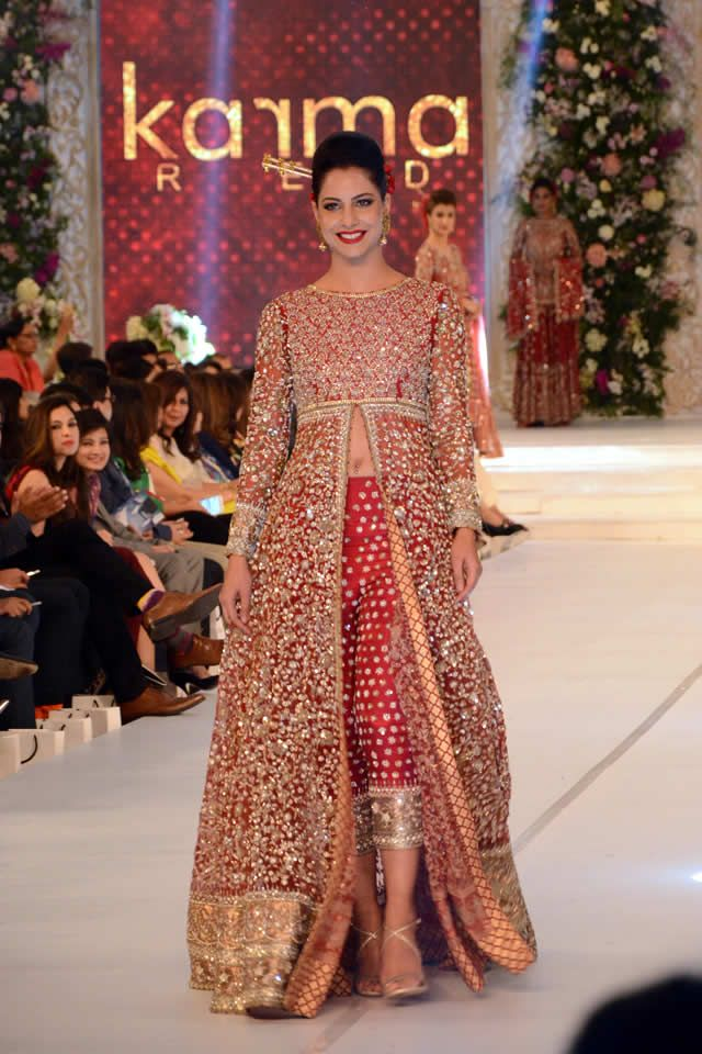 Karma Collection PFDC Loreal Paris Bridal Week 2015 Pics