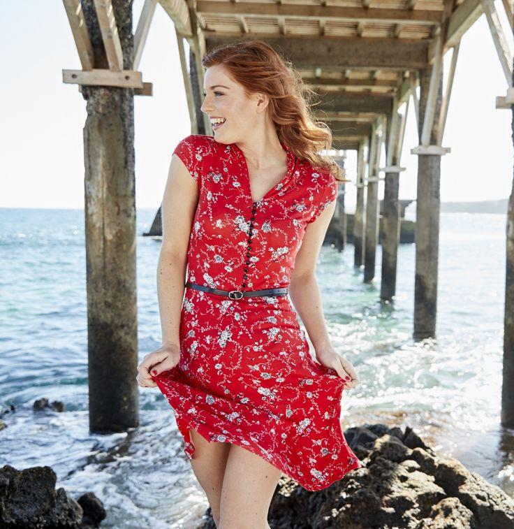 Joe Browns Summer Collection - Ditsy Floral Vintage Dress #kaleidoscope
