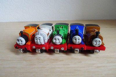 Томас & Друзья Металл Литья Под Давлением Много 5 Игрушечные Поезда Свободные