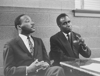 Dr. Martin Luther King Jr. and Kenneth Kaunda