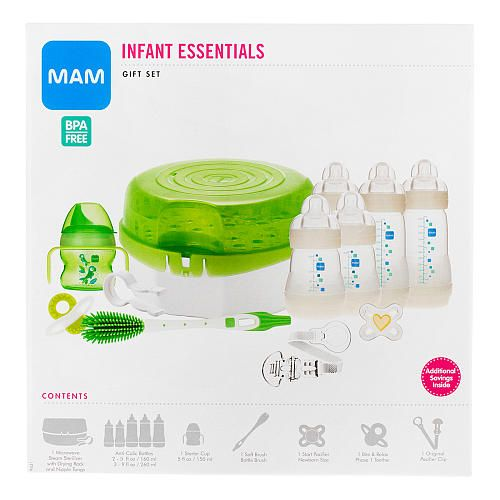 "MAM Infant Essentials Baby Bottle Feeding Gift Set - MAM Baby - Babies ""R"" Us"